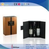 Bouteille de vin personnalisé De Luxe Boîte d'affichage de verre avec des outils (5637)