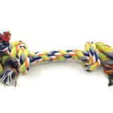 Baumwolseil knotet Haustier-Hundespielzeug für das Beißen