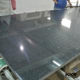 台所カウンタートップの黒の輝きの30mm設計された水晶石