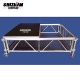 Le contreplaqué stade Portable en aluminium de plein air étape Étape à hauteur réglable