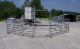 Le panneau/bétail portatifs de corral de frontière de sécurité/cheval de panneau de yard de bétail lambrissent (l'usine)