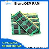 Оригинал Ett откалывает компьтер-книжку DDR3 8GB 512mbx8 16c