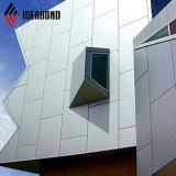 Ideabondの高い建物の壁の装飾PVDFの銀製の壁のクラッディング(AF-403)