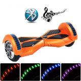 착색된 빛 스쿠터를 가진 2 바퀴 Hoverboard 8 인치 Bluetooth 각자 균형을 잡는 스쿠터 또는 지능적인 전기 Hoverboard 또는 전기 스케이트보드 또는 전기 스쿠터