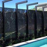Peinture métallisée découpé au laser Panneaux d'écran d'aluminium/ Écran de confidentialité Mashrabiya/ écran décoratifs/ écran architecturale