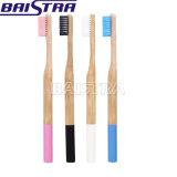 2018 Venta caliente ecológica de bambú natural el cepillo de dientes para adultos