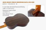 Professionnel de la marque Aiersi élevée de la conception de fretboard Smallman Guitare classique