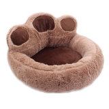 개 장난감 애완 동물 집 견면 벨벳 부드럽게 푹신한 채워진 OEM 침대