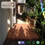 Decking impermeável resistente UV do Teak do fornecedor WPC de Guangdong