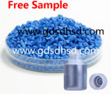 Blauwe die Vuller Masterbatch voor Plastic Raad wordt gebruikt