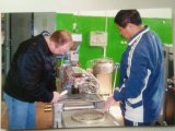 Double boudineuse à vis professionnelle pour la production d'enduit de poudre