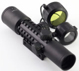 Óptica 4X28E W/20mm de tejido manchado iluminado de la rampa del rifle scope