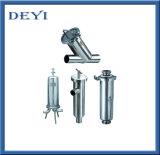 Filtro de ângulo de aço inoxidável SS304 Sanitária Tipo Weld Y ( DY- SF201 )