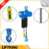 Tipo grua Chain elétrica de Liftking 5t Kito com suspensão do gancho