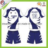 Projeto novo futebol personalizado Jersey de Subilmation da camisa do futebol