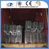 中国の高品質の波形の構造電流を通された鋼鉄床のDeckingシート