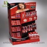Supermercado cartón cepillo de dientes, utiliza la pantalla de caramelos de Rack con cuadrículas