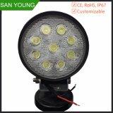 熱い販売の高品質LED働くライト27W LED運転作業軽いオフロードライト