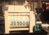 Js1000 mezclador concreto 1m3 (doble-eje)