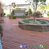 Snelle Installatie Houten Samengestelde Stevige WPC Decking voor Tuin