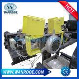La pellicola di plastica del PE dei pp appallottola la doppia macchina del granulatore della fase dell'espulsione