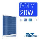 20W Module photovoltaïque Poly meilleur plan d'énergie solaire pour la maison