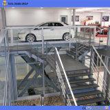 Levage hydraulique de véhicule de ciseaux pour le stationnement de garage