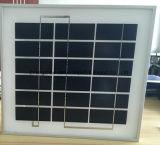 Comitato solare di plastica del blocco per grafici 5W PV dell'ABS di alta efficienza della Cina