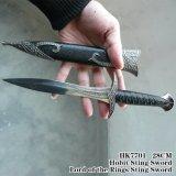 Senhor da espada da picada dos anéis com bainha 28cm