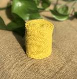 Rullo colorato del tessuto della tela da imballaggio della iuta
