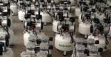 Silent /Oilless Mute/Oil-Free compresor de aire para equipos médicos