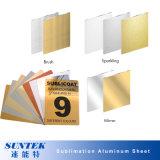 Hoja de aluminio de la sublimación nacarada para la impresión del traspaso térmico