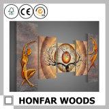 Het Schilderen van de Decoratie van de Kunst van de Muur van Frameless voor de Decoratie van de Hal van het Hotel