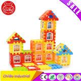 Brinquedo plástico dos blocos de apartamentos do ABS do miúdo educacional