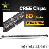 Whosesale que conduz o feixe 25.6inch 120W escolhe a barra clara do diodo emissor de luz da fileira para o caminhão do jipe