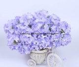 Purple Hortênsia Seda Casamento bouquet de flores artificiais de Seda Hortênsia no Regime a granel de Casamento Artificial Hortênsia