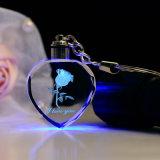 De hete het Verkopen Hart Gestalte gegeven Beelden die van de Douane Zeer belangrijke Ketting van de Telefoon van het Kristal USB de Mobiele graveren voor de Dag van Kerstmis