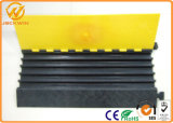 Пандус кабеля каналов резины 5 прочного качества сильный гибкий