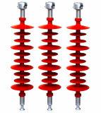 La longue tige composite isolant de suspension pour une tension élevée