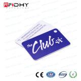 Contrôle d'accès sec de vente chaud Keyfob d'indicateur de clé d'IDENTIFICATION RF de PVC 125kHz