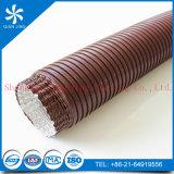 HVACシステムのためのブラウンカラー半硬式アルミニウム適用範囲が広いダクト