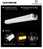 Qualität 30W 1.5m Aluminum+PC PF>0.9 5 Jahre Garantie eben Triproof helle T8 LED Gefäß-Merkmals-