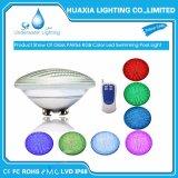 Теплый белый AC12V 35W PAR56 подводного освещения бассейн светодиодный светильник