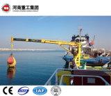 De hydraulische Elektrische Mariene Kraan van het Vrachtschip van het Dek Voor het Gebruik van de Haven