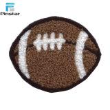 Barato preço Football Pelúcias Patches Bordados personalizados