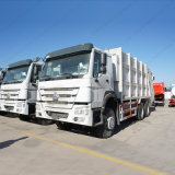 Camion di immondizia dei rifiuti di capienza del camion 16cbm del compressore di HOWO