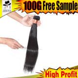 Unprocesse empaquette le cheveu brésilien de Vierge en vente