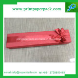 Caja de embalaje de cartón personalizadas rojo Caja de papel de regalo