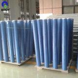 El plástico de color azulado de película de PVC flexible Super Clear Film de PVC blando