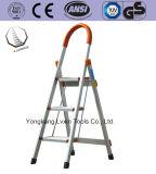 Alta calidad un tipo escala/escala de plegamiento lateral doble de la aleación de aluminio